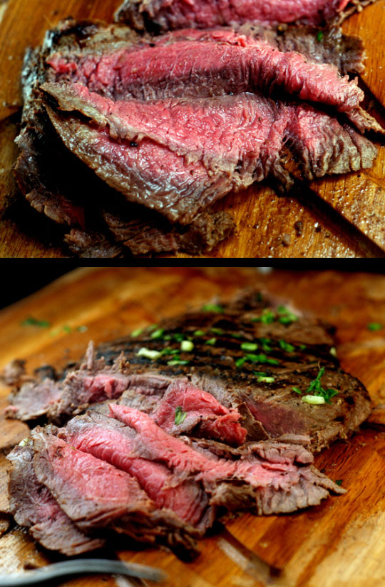 Spicy asian infused flank steak parsley sage sweetparsley sage sweet - Best marinade for filet mignon on grill ...