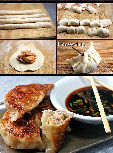 Hey there, Dumpling! How to Make Asian Dumplings and Potstickers from Scratch. So Fun, Easy and Delicious!| parsleysagesweet.com | #dumplings #potstickers #pork #shrimp