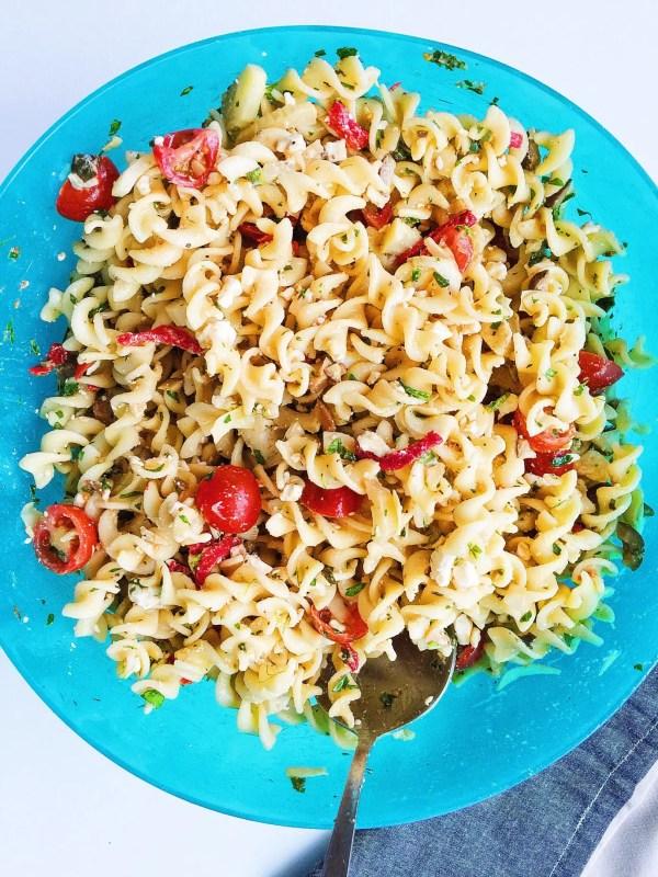roasted fennel pasta salad