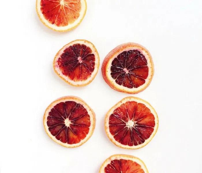 blood orange chia pudding