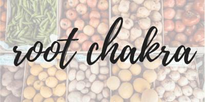 chakra and food pairing
