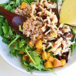 harvest farro salad