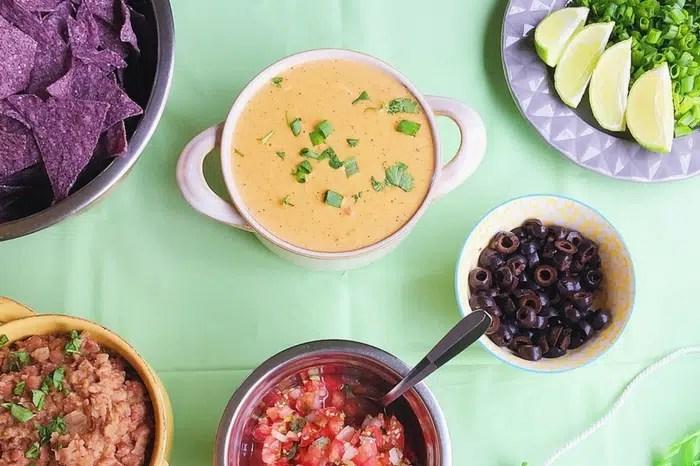 healthier build your own nachos bar