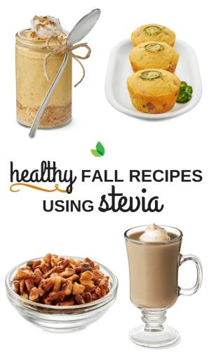 fall recipes with stevia