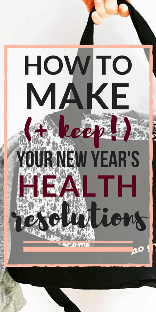 how to keep your new year's health resolutions