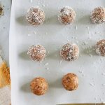 coconut citrus energy bites
