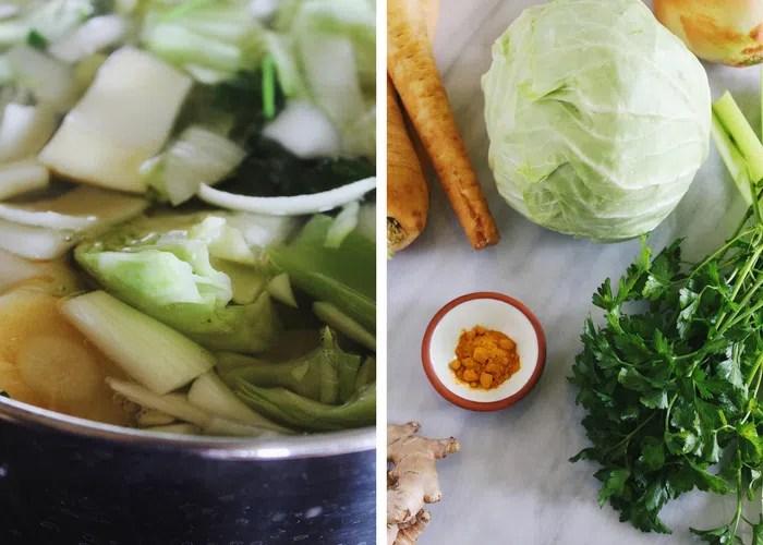 detox vegetable broth
