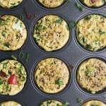 quinoa protein egg muffins