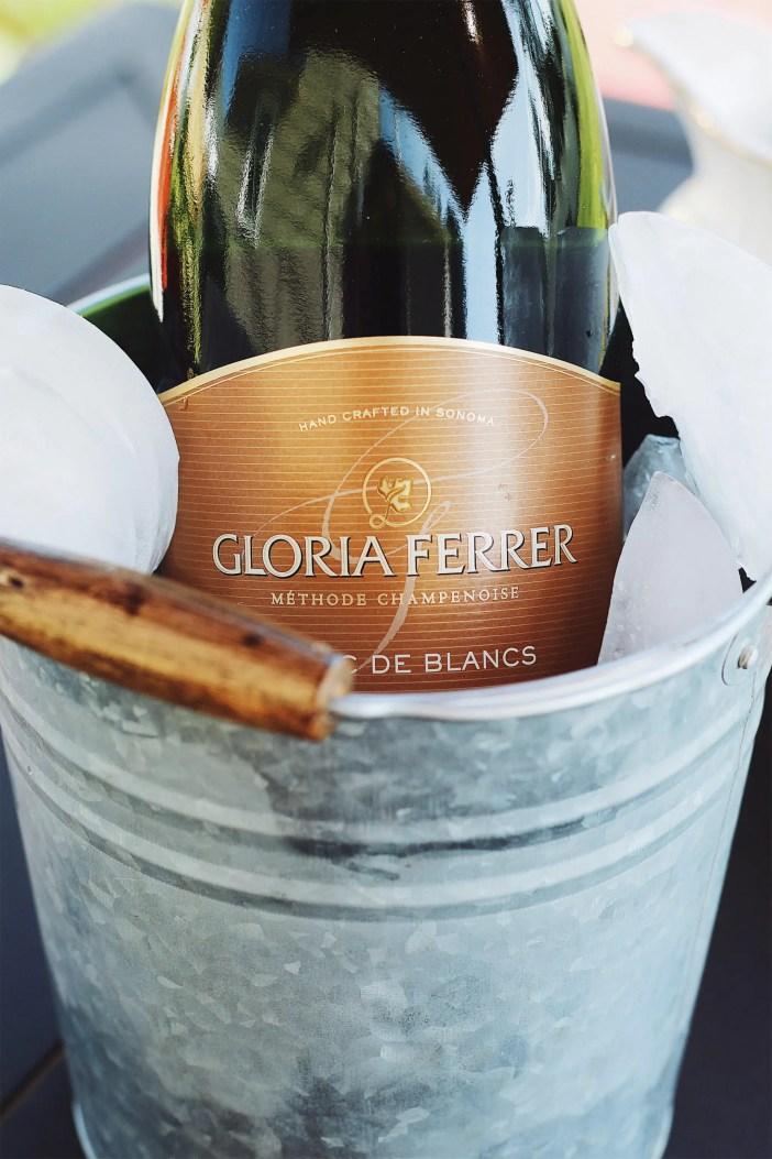 al fresco champagne brunch