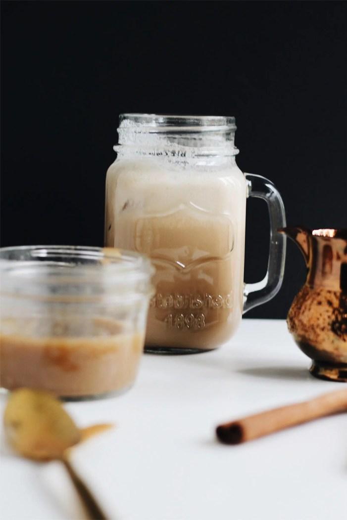iced cinnamon coconut milk vietnamese coffee