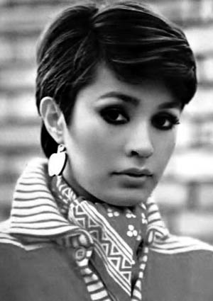 Neli with short hair - early 70s