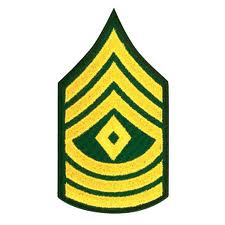 army first sergeant