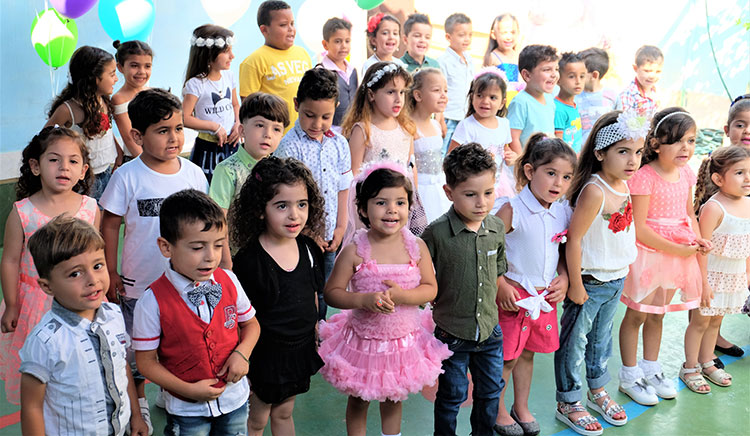 Une classe libanaise