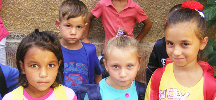 La rentrée des classes en Roumanie