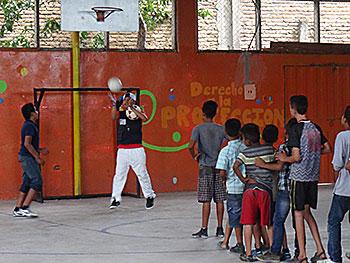 Honduras Enfants au sport