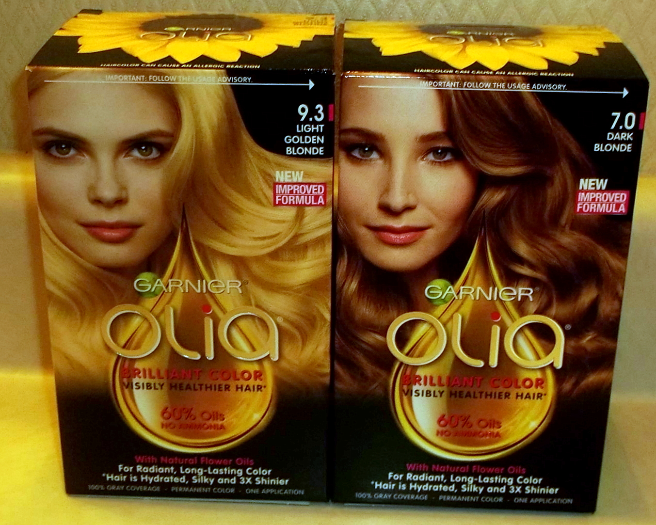Garnier Hair Color With Olia Mixed Blessings