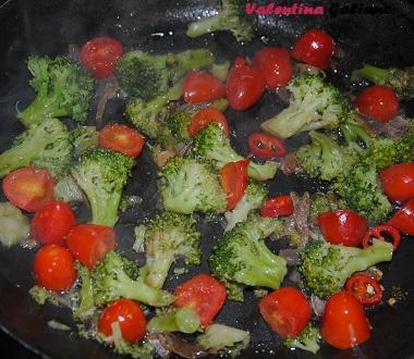 broccolo e pomodorino