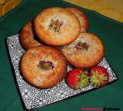 muffins cocco_fragole