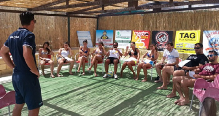 beach volley elimos trapani