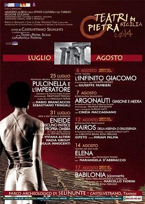 Manifesto Teatri di Pietra Selinunte
