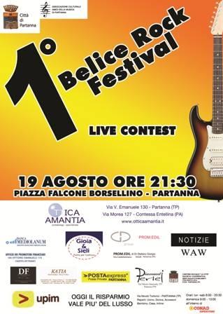 rock festival partanna