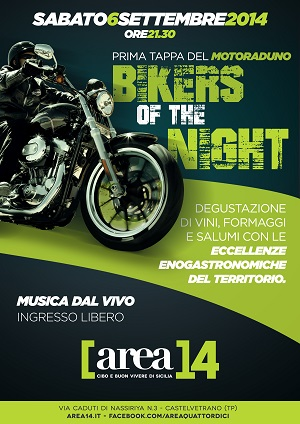 locandina Bikers of the night - Copia