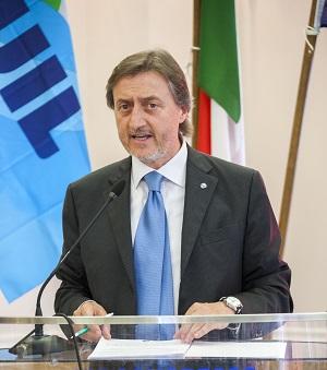 Il Segretario Generale Uil Trapani Eugenio Tumbarello