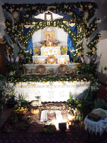altare san giuseppe partanna pro loco 4