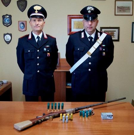 detenzione illegale armi e munizioni custonaci