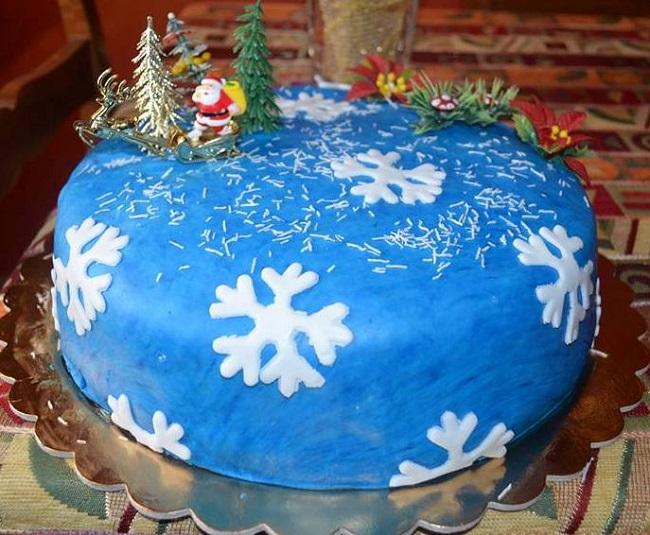 Torta natalizia alla ricotta di Antonella Cascio