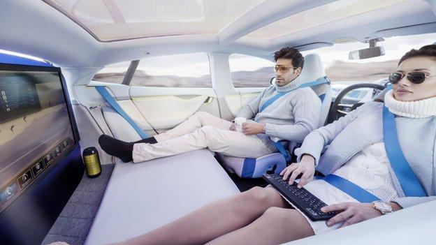 Geneva Motor Show Driverless Car