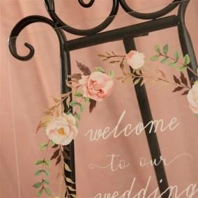 Cartelli Plexiglass tableau de mariage YK002_8