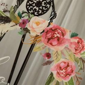 Cartelli Plexiglass tableau de mariage YK008_5