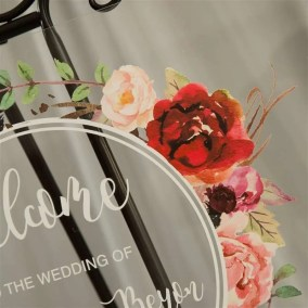 Cartelli Plexiglass tableau de mariage YK012_8