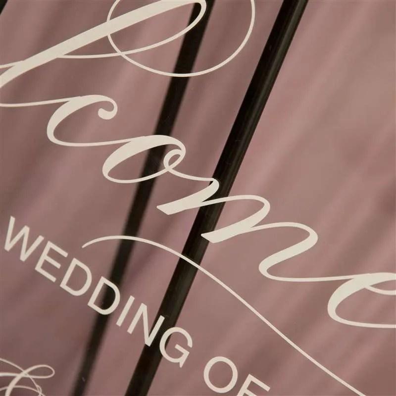 Cartelli Plexiglass tableau de mariage YK015_7