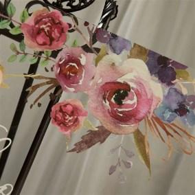 Cartelli Plexiglass tableau de mariage YK017_6