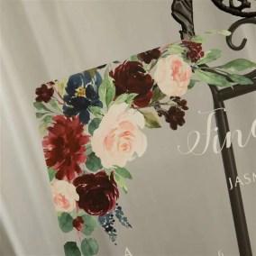 Cartelli Plexiglass tableau de mariage YK022_3