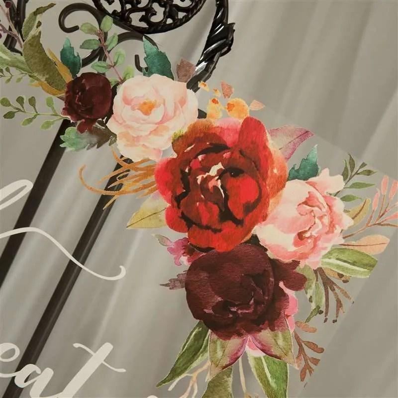 Cartelli Plexiglass tableau de mariage YK027_3