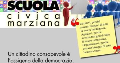 Scuola civica Marziana-lezione del 10.1.2018