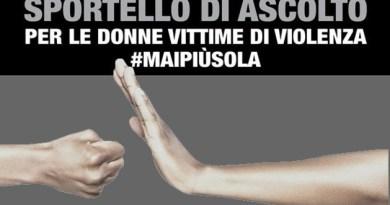 #maipiùsola: sportello di ascolto per donne vittime di violenza