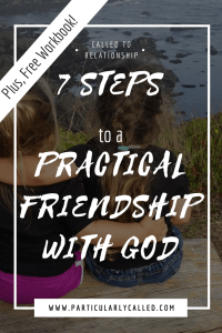 Practical friendship with God - Pinterest