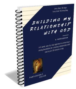 Relationship with God ecourse workbook