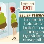 El concepto de perseverancia en la creencia explicado con ejemplos