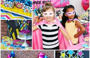 The Ultimate Girl Superhero Party