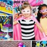 girl superhero party