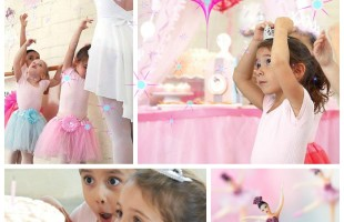 The Prettiest Pink Ballerina Party