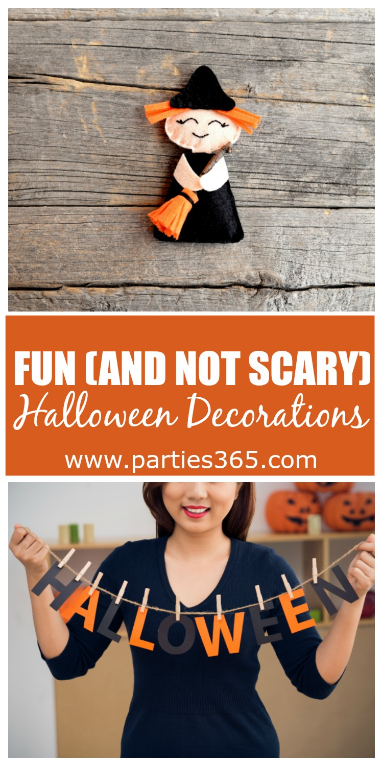 fun and not scary halloween decorations for your home - Non Scary Halloween Decorations
