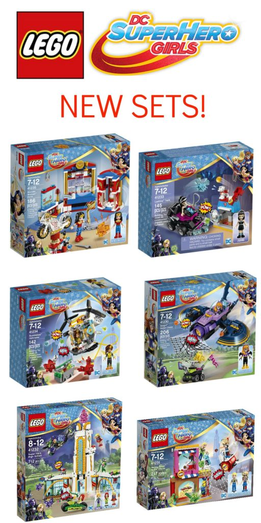 Calling all LEGO DC Super Hero Girl fans! If your little builder is a fan of the videos and/or toys, do I have the gift idea for you.