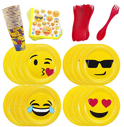 Emoji Party Supplies are hot right now and we have all the details on where you can find them + fun ideas for your Emoji party.