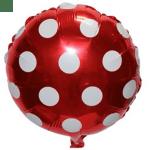 """18""""/45cm folyo Balon. Şişirilmeden teslim edilir."""